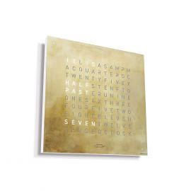 QLOCKTWO CLASSIC CREATOR'S EDITION SILVER & GOLD
